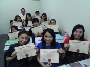 Korean language program in Mahkota Cheras