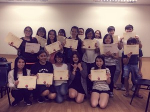 Korean class in Sunway University