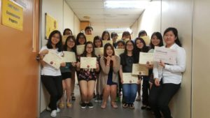 Korean class in Sunway University - 2016